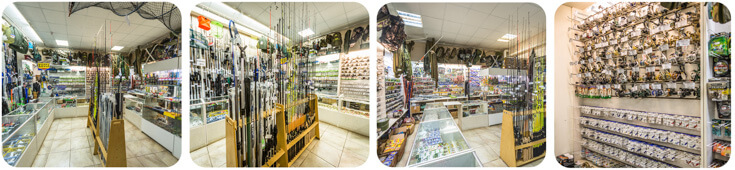 Отдел товаров для рыбалки и туризма